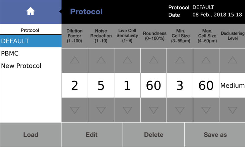 CUSTOMIZE & SAVE PROTOCOLS