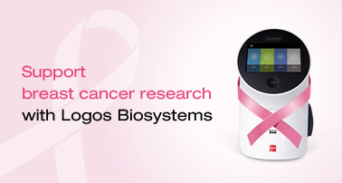 Support breast cancer research with Logos Biosystems